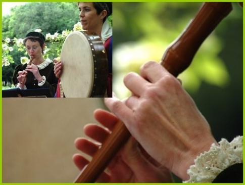 Flûte à bec et Bodhran